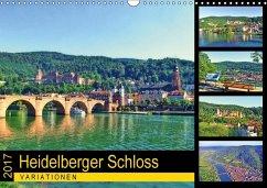 9783665560256 - Liepke, Claus: Heidelberger Schloss Variationen (Wandkalender 2017 DIN A3 quer) - Buch