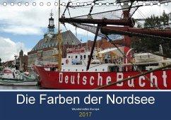 9783665560898 - cycleguide: Die Farben der Nordsee (Tischkalender 2017 DIN A5 quer) - Buch