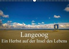 9783665560027 - Thiele, Tobias: Langeoog - Ein Herbst auf der Insel des Lebens (Wandkalender 2017 DIN A3 quer) - Buch