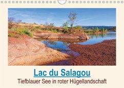 9783665560744 - LianeM: Lac du Salagou - Tiefblauer See in roter Hügellandschaft (Wandkalender 2017 DIN A4 quer) - Buch