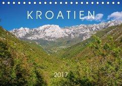 9783665561291 - Seefried, Sarah: Kroatien 2017 (Tischkalender 2017 DIN A5 quer) - کتاب