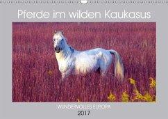 9783665560799 - cycleguide: Pferde im wilden Kaukasus (Wandkalender 2017 DIN A3 quer) - Buch