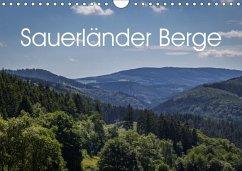 9783665561345 - Rein, Simone: Sauerländer Berge (Wandkalender 2017 DIN A4 quer) - Buch