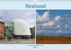 9783665560492 - Dürr, Brigitte: Stralsund und die Boddenlandschaft (Wandkalender 2017 DIN A3 quer) - کتاب