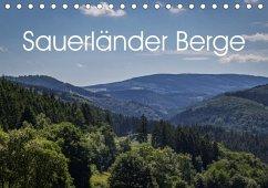 9783665561376 - Rein, Simone: Sauerländer Berge (Tischkalender 2017 DIN A5 quer) - کتاب
