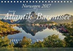 9783665560737 - Schiedl, Bernd: Norwegen - Zwischen Atlantik und Barentsee (Tischkalender 2017 DIN A5 quer) - Buch