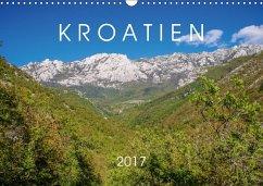 9783665561277 - Seefried, Sarah: Kroatien 2017 (Wandkalender 2017 DIN A3 quer) - Buch