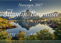 9783665560720 - Schiedl, Bernd: Norwegen - Zwischen Atlantik und Barentsee (Wandkalender 2017 DIN A2 quer) - کتاب