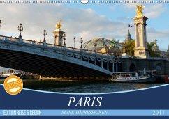 9783665561154 - Kruse, Gisela: Paris Seine-Impressionen (Wandkalender 2017 DIN A3 quer) - Buch