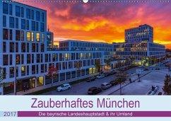 9783665560188 - Kelle, Stephan: Bezauberndes München - Die bayrische Landeshauptstadt und ihr Umland. (Wandkalender 2017 DIN A2 quer) - کتاب