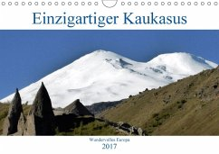 9783665560454 - cycleguide: Einzigartiger Kaukasus (Wandkalender 2017 DIN A4 quer) - کتاب