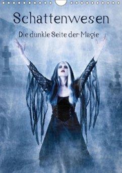9783665560522 - Art, Ravienne: Schattenwesen - Die dunkle Seite der Magie (Wandkalender 2017 DIN A4 hoch) - کتاب