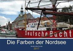 9783665560881 - cycleguide: Die Farben der Nordsee (Wandkalender 2017 DIN A2 quer) - کتاب