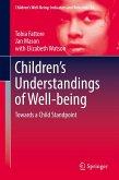 Children's Understandings of Well-being (eBook, PDF)