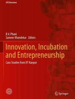 Innovation, Incubation and Entrepreneurship