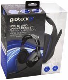 GIOTECK HC2+ Universal Stereo Headset, Kopfhörer, kabelgebunden, rot-schwarz (PS4, Xbox 360, Xbox One & PC)