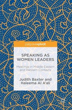 Speaking as Women Leaders (eBook, PDF)