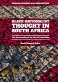Black Nationalist Thought in South Africa (eBook, PDF)