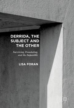 Derrida, the Subject and the Other (eBook, PDF)