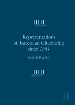 Representations of European Citizenship since 1951 (eBook, PDF)