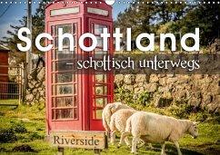 9783665561956 - Schöb, Monika: Schottland - schottisch unterwegs (Wandkalender 2017 DIN A3 quer) - Buch