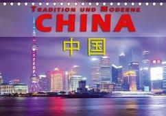9783665561901 - Pohl, Gerald: China - Tradition und Moderne (Tischkalender 2017 DIN A5 quer) - Buch
