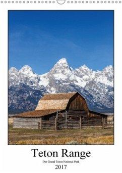 9783665561451 - Klinder, Thomas: Teton Range - Der Grand Teton National Park (Wandkalender 2017 DIN A3 hoch) - کتاب