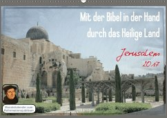 9783665562083 - Color, GT: Mit der Bibel in der Hand durch das Heilige Land / Jerusalem (Wandkalender 2017 DIN A2 quer) - کتاب
