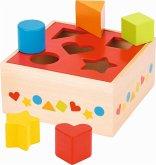 Goki 58580 - Sortbox, Steckbox, Sortierspiel, Holz