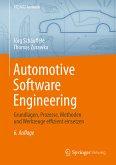 Automotive Software Engineering (eBook, PDF)