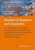 Abnahme im Bauwesen nach Ansprüchen (eBook, PDF)