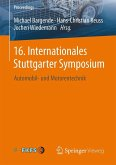 16. Internationales Stuttgarter Symposium (eBook, PDF)