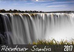 9783665562335 - und Stefanie Krüger, Carsten: Abenteuer Sambia (Wandkalender 2017 DIN A2 quer) - کتاب