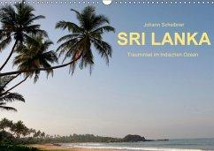 9783665562656 - Scheibner, Johann: Sri Lanka-Trauminsel im Indischen Ozean (Wandkalender 2017 DIN A3 quer) - کتاب