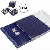 Münzenbox NOVA für 35 St. 5-DM-Münzen