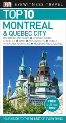 DK Eyewitness Top 10 Travel Guide Montreal & Qu...