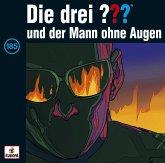 Der Mann ohne Augen / Die drei Fragezeichen - Hörbuch Bd.185 (1 Audio-CD)