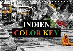 9783665563035 - Buchspies, Carina: Indien Colorkey (Tischkalender 2017 DIN A5 quer) - Buch