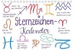 9783665562991 - Kleinhans - Kritzelfee, Martje: Sternzeichen-Kalender (Tischkalender 2017 DIN A5 quer) - Buch