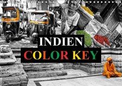 9783665563004 - Buchspies, Carina: Indien Colorkey (Wandkalender 2017 DIN A4 quer) - Buch