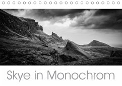 9783665563257 - Mulder / Corsa Media, Michiel: Skye in Monochrom (Tischkalender 2017 DIN A5 quer) - Livre