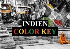 9783665563011 - Buchspies, Carina: Indien Colorkey (Wandkalender 2017 DIN A3 quer) - Bok