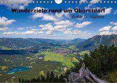 9783665563806 - Allgöwer, Walter G.: Wanderziele rund um Oberstdorf (Wandkalender 2017 DIN A4 quer) - Libro