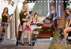 9783665563400 - Böhm, Christian: Heiße Frauen und schnelle Autos (Tischkalender 2017 DIN A5 quer) - पुस्तक