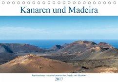9783665563462 - Aug: Kanaren und Madeira (Tischkalender 2017 DIN A5 quer) - Liv