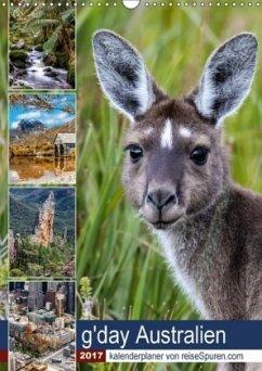9783665563707 - Bergwitz, Uwe: g´day Australien 2017 (Wandkalender 2017 DIN A3 hoch) - Könyv