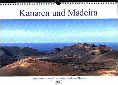 9783665563455 - Aug: Kanaren und Madeira (Wandkalender 2017 DIN A3 quer) - Libro