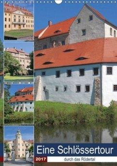 9783665563882 - Dudziak, Gerold: Eine Schlössertour durch das Rödertal (Wandkalender 2017 DIN A3 hoch) - Buku