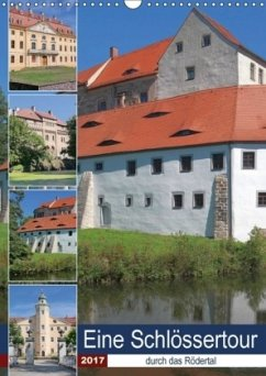 9783665563882 - Dudziak, Gerold: Eine Schlössertour durch das Rödertal (Wandkalender 2017 DIN A3 hoch) - Buch