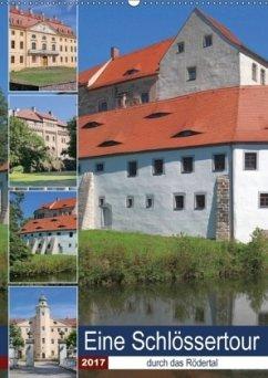 9783665563899 - Dudziak, Gerold: Eine Schlössertour durch das Rödertal (Wandkalender 2017 DIN A2 hoch) - Buku